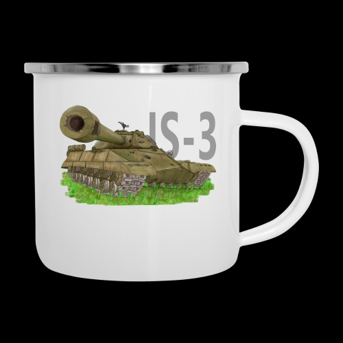 IS-3 (Writing) - Tazza smaltata