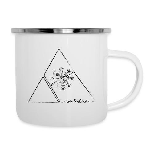winterkind the emblem - Emaille-Tasse