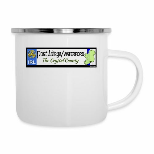 WATERFORD, IRELAND: licence plate tag style decal - Camper Mug
