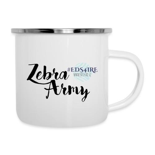 Zebra Army (black) - Camper Mug