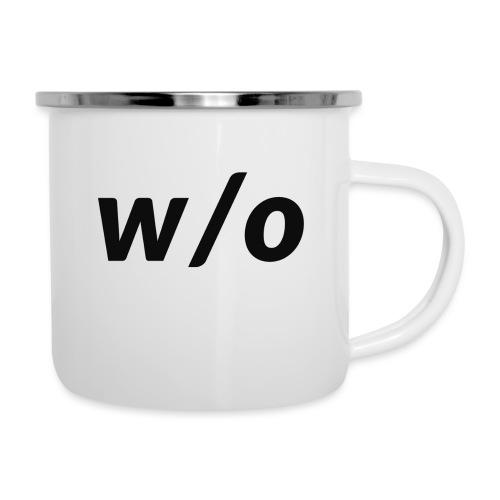 W/O - Tazza smaltata