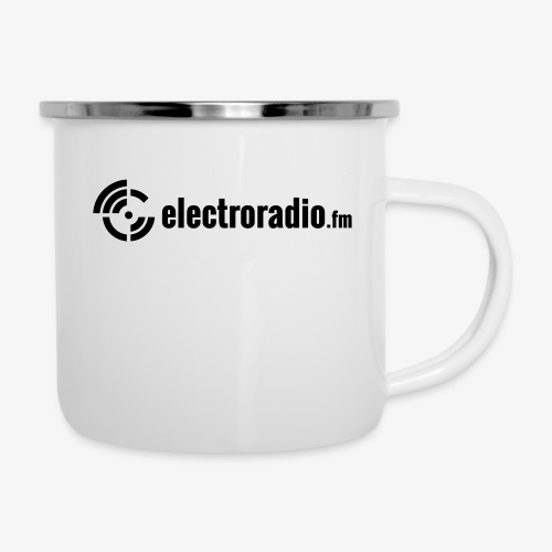 electroradio.fm - Emaille-Tasse