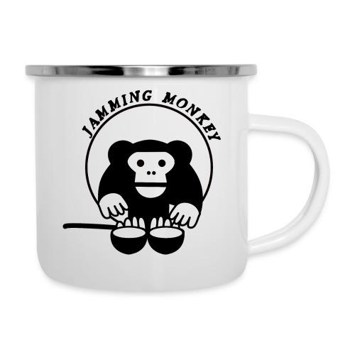 Jamming Monkey - Tasse émaillée