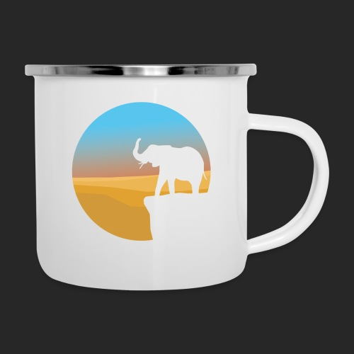 Sunset Elephant - Camper Mug