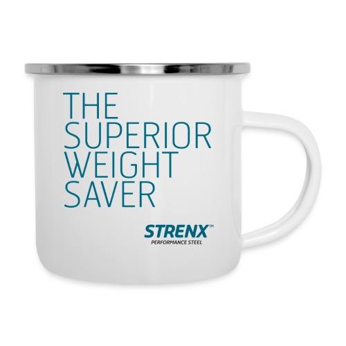 The Superior Weight Save - Emaljmugg