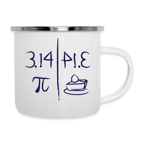 pi vs pie - Camper Mug