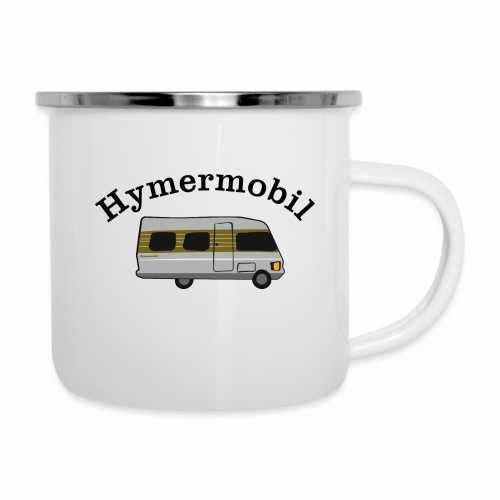 Hymermobil - Emaille-Tasse