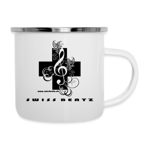 Swiss Beatz Logo with L - Emaille-Tasse