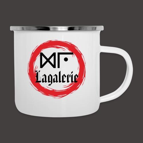 Logo Officiel Gu Lagalerie Noir - Tasse émaillée