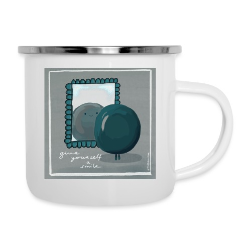 smile - Emaille-Tasse
