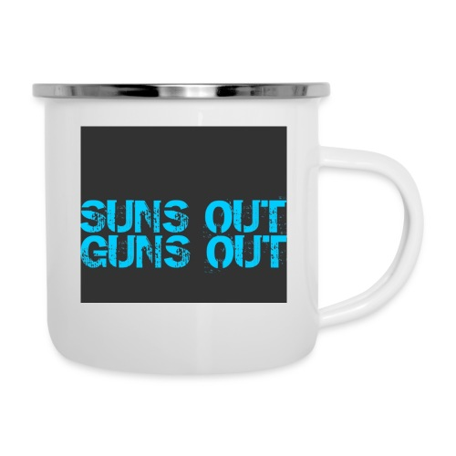 Felpa suns out guns out - Tazza smaltata