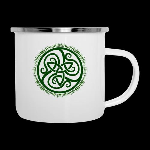 Green Celtic Triknot - Camper Mug