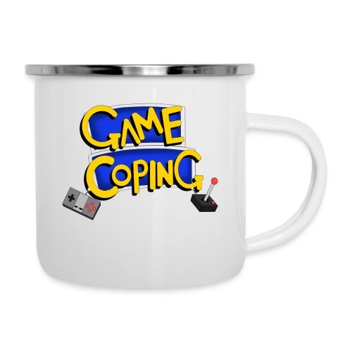Game Coping Logo - Camper Mug