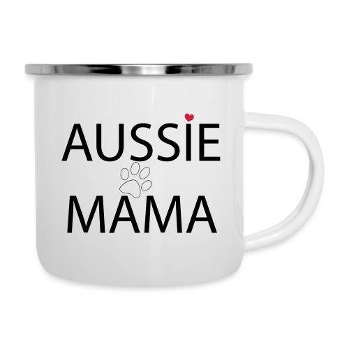 Aussie Mama - Emaille-Tasse