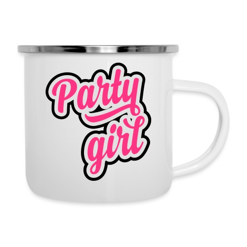 Party Girl - Emaille mok