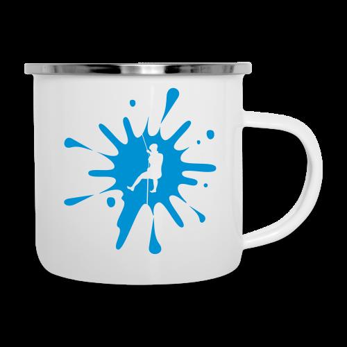cs Canyoning Splash - Emaille-Tasse