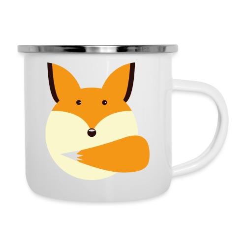 Fuchs Norbi - Emaille-Tasse