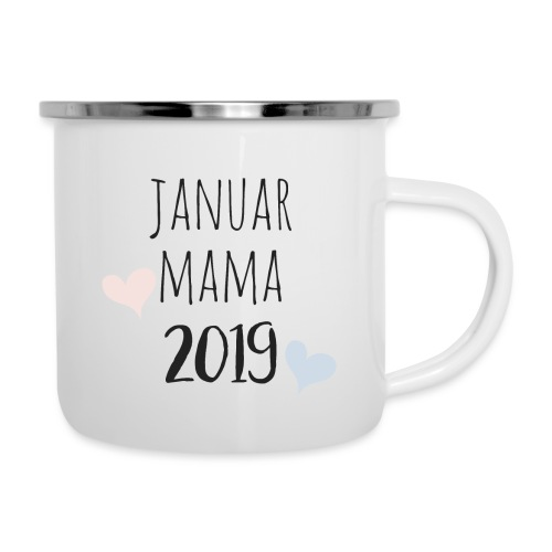 Januar Mama 2019 - Emaille-Tasse