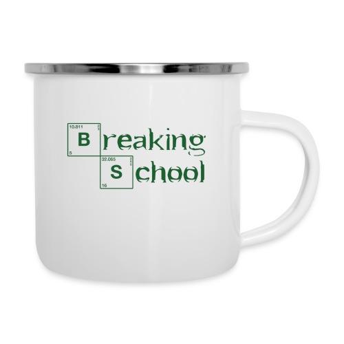 Breaking-School - Emaille-Tasse