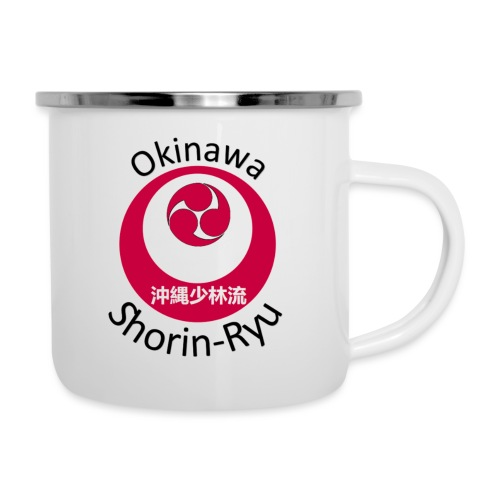 Okinawa Shorin Ryu - Emaljekrus