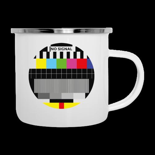 Vintage test pattern - Camper Mug