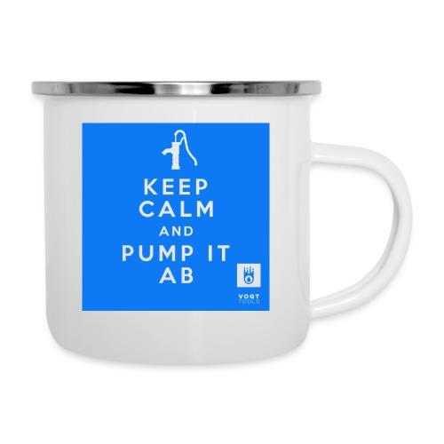 KEEP CALM 2019 - Emaille-Tasse