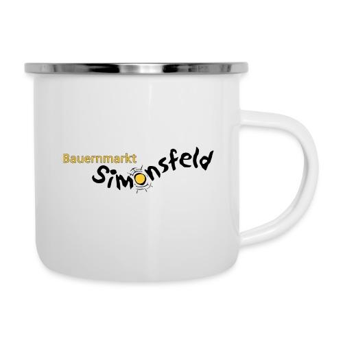 bauernmarkt_simonsfeld - Emaille-Tasse