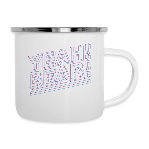 Yeah Bear Layers - Emaille-Tasse