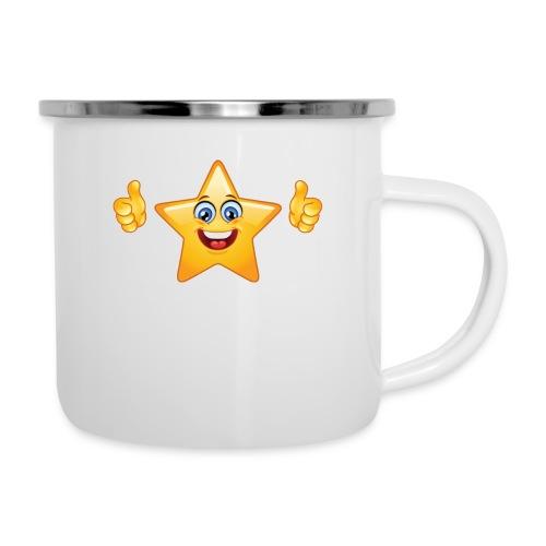 star-smiley-234 - Tazza smaltata