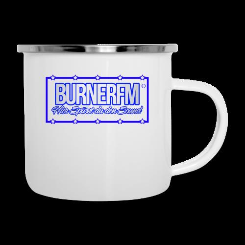 BurnerFM Hier Sürst du den Sound - Emaille-Tasse