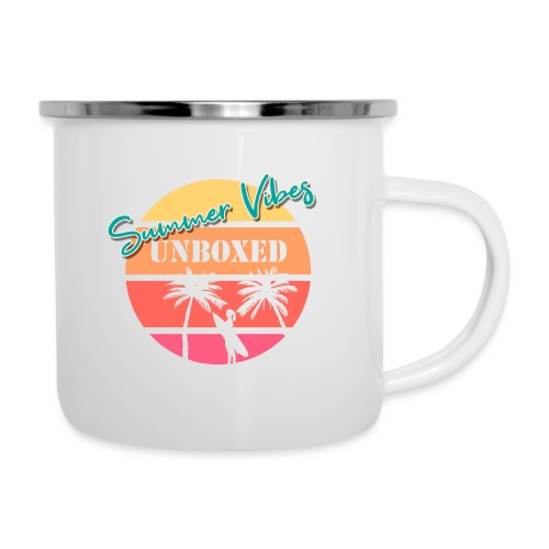 Summer Vibes UNBOXED - Emaille-Tasse