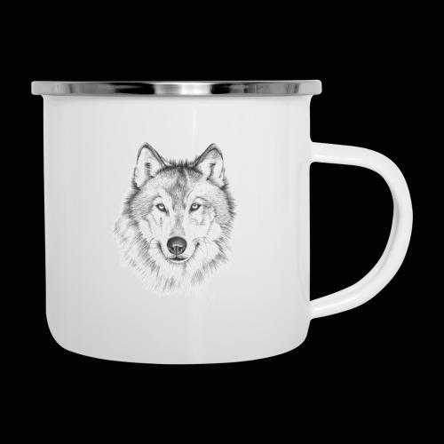 Wolf - Emaljekrus