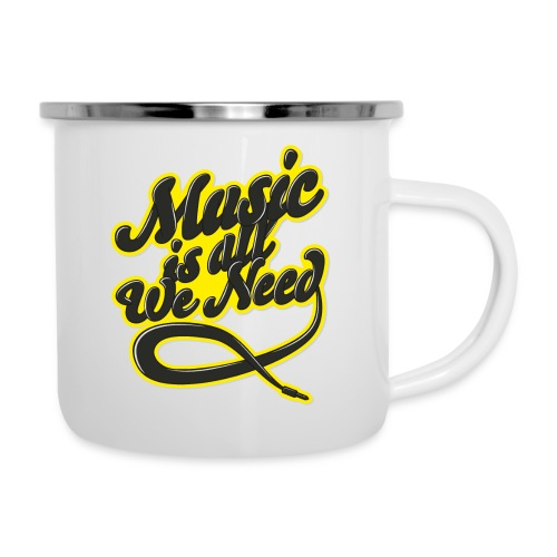 Music Is All We Need - Camper Mug