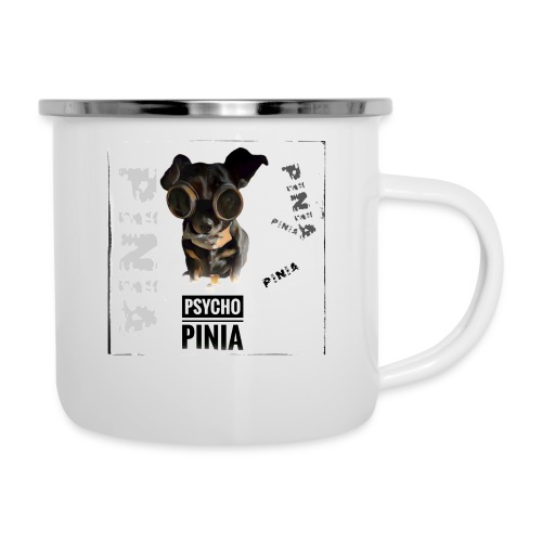 Psycho Pinia - Emaille-Tasse