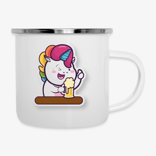 Funny Unicorn - Camper Mug