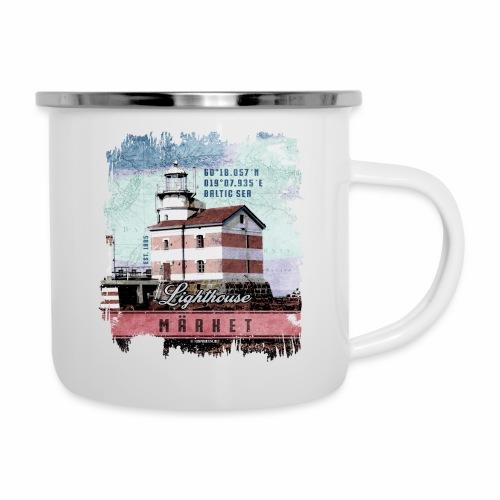 Märket majakkatuotteet, Finland Lighthouse, väri - Emalimuki