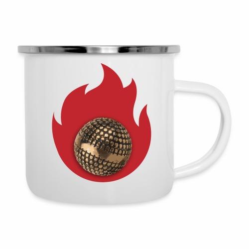 petanque fire - Tasse émaillée