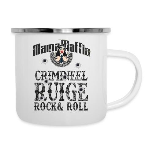 Crimineel Ruige Rock & & Roll Shirt - Emaille mok