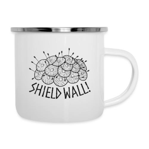 SHIELD WALL! - Camper Mug