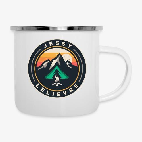Jessy Lelievre logo 2 - Tasse émaillée