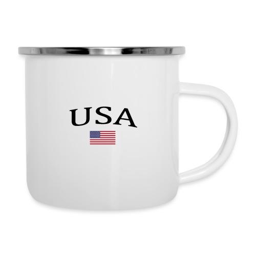 USA, America, Usamade, Trinidad, Laconte, American - Camper Mug