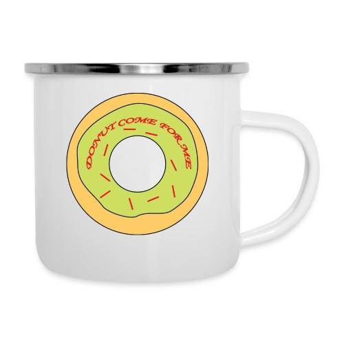 Donut Come For Me Red - Camper Mug