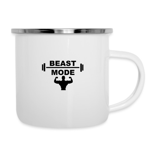 beast mode - Emaljmugg