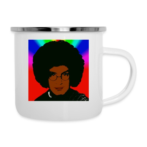 afro1 - Emaille-Tasse