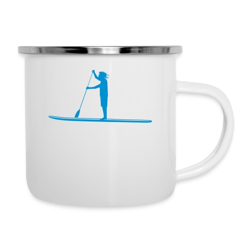 What's SUP - Emaille-Tasse