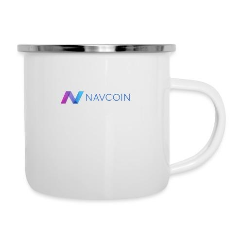 Navcoin (Nav) - Emaille-Tasse