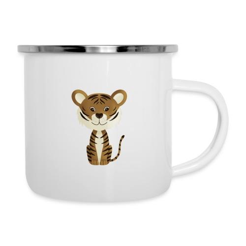 Tiger Monty - Emaille-Tasse