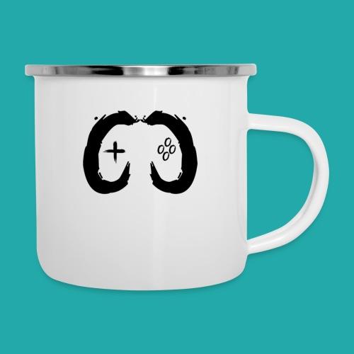 Crowd Control Controller Logo Black Large - Camper Mug