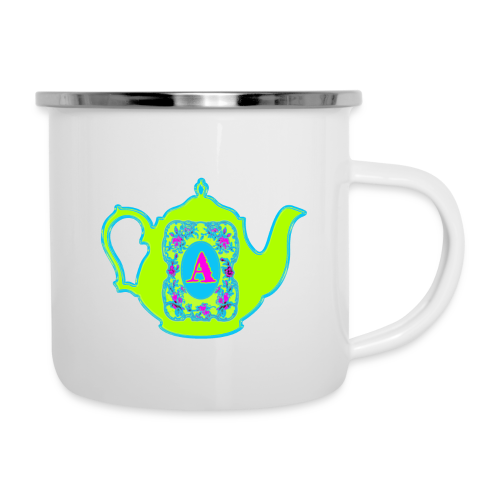 Wonders & Madness Tea Party - Camper Mug