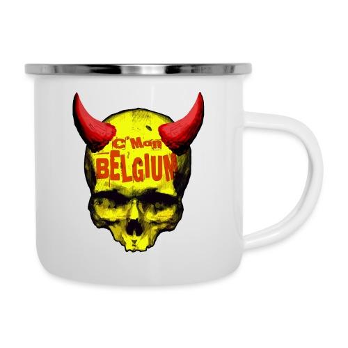 Belgium Devil 2 - Emaille mok